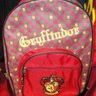 Wizarding World of Harry Potter Gryffindor Backpack Universal Studios Park