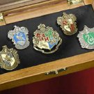 Hogwarts House Pins With Case Harry Potter Noble Collection Wizarding World