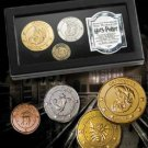 Gringotts Bank Coin Collection Harry Potter Noble Universal Wizarding World