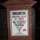 Wizarding World of Harry Potter Proclamation 82 Magnet Universal Studios Park