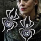Narcissa Malfoy Sterling Silver Pearl Spider Earrings Harry Potter Noble