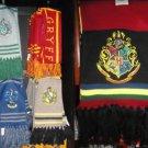 Wizarding World of Harry Potter Hogwarts 5 Quidditch Scarf Scarves Set Lot