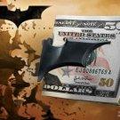 Batman Batarang Money Clip Dark Knight Rises Batman Begins Black Satin Finish