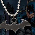 Batman Emblem Pendant Black Dark Knight  Rises Batman Begins