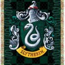 Harry Potter Slytherin Crest Tapestry Throw Blanket 48 by 60 Inches