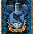 Harry Potter Ravenclaw Crest Tapestry Throw Blanket 48 by 60 Inches