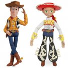 Toy Story Pull String Talking Action Figures Woody and Jessie 16 Disney  Pixar