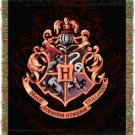 Harry Potter Hogwarts Crest Tapestry Throw Blanket 48 by 60 Inches