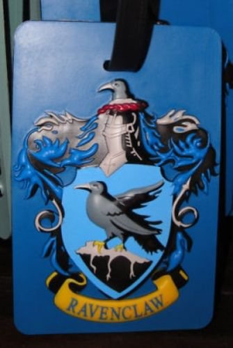 Wizarding World of Harry Potter Ravenclaw PVC Luggage Tag