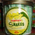 Wizarding World of Harry Potter Set of 2 Jars Jumping Snakes Candies Honeydukes