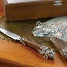 Executive Gargoyle Medieval Desk Set Magnifying Glass and Letter Opener