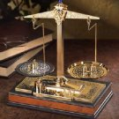 The Balance Classic Set of Fine Scales 24k Gold Plated With Weights