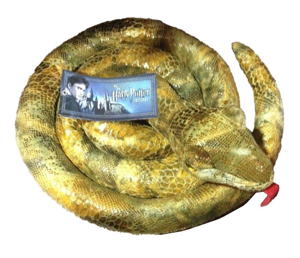 Wizarding World Of Harry Potter Nagini Plush Snake Horcrux