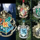 Harry Potter Metal Christmas Ornaments Wizarding World of Harry Potter