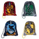 Harry Potter Drawstring Backpack Choice of Hogwarts House Wizarding World