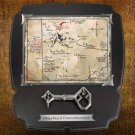 Thorin Oakenshield Map and Key The Hobbit Noble Collection