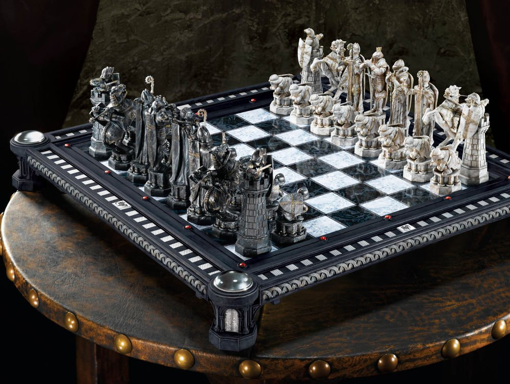 Harry Potter Final Challenge Wizards Chess Set Wizarding