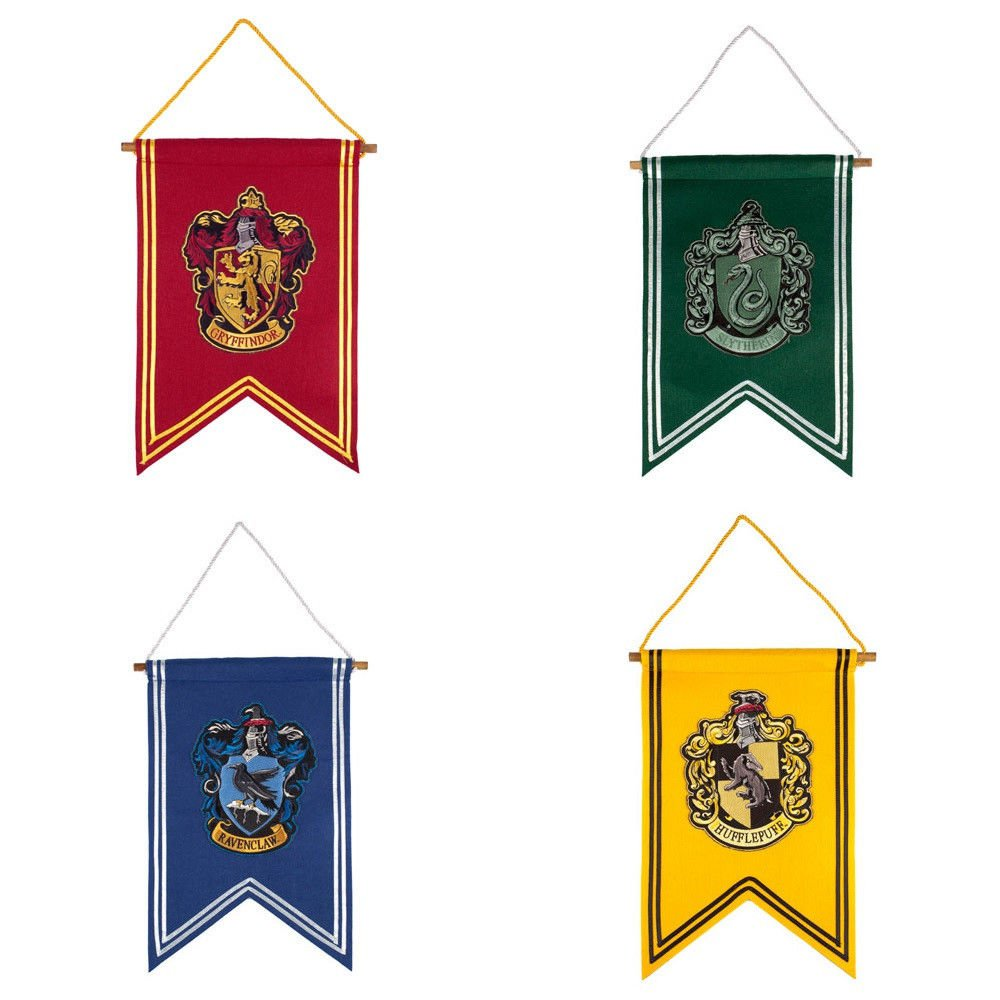 Harry Potter Banner Choice Of Hogwarts House Wizarding
