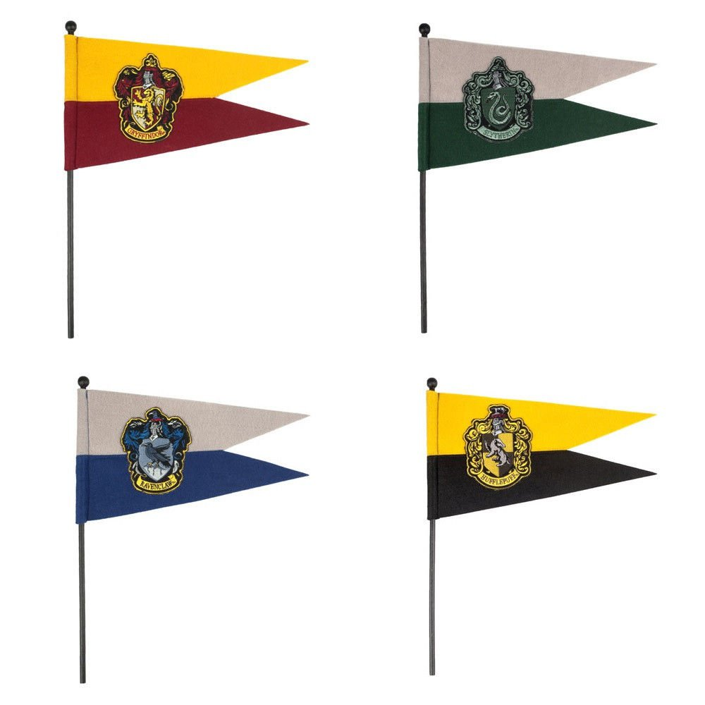 Harry Potter Quiditch Pennant Choice Of Hogwarts House