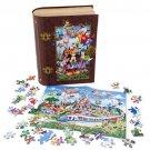 Walt Disney World Storybook 750 Piece Puzzle With Book Case Magic Kingdom