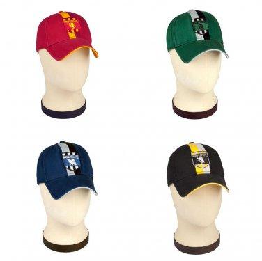 fd1425f0efa Harry Potter Baseball Cap Hat Choice of Hogwarts House Wizarding ...