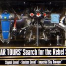 Star Wars Search for the Rebel Spy Figure Set Star Tours Disney Figurines