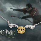 Harry Potter Quidditch Golden Snitch Necklace Noble Collection