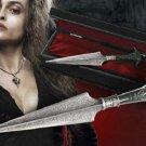 Harry Potter Bellatrix Lestrange Dagger Prop Replica Noble Collection