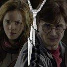 Harry Potter Lightning Bolt Necklace Wizarding World Noble Collection
