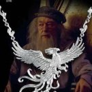 Fawkes the Phoenix Sterling Silver Necklace Harry Potter Noble Collection