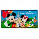 Walt Disney World  Storybook License Plate Mickey and Friends Duffy Park Car