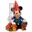 Mickey Mouse Gnome Rain Gauge Epcot Flower and Garden Festival Walt Disney World