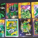 Doctor Doom Cards- Marvel Flair Overpower Lot of 8 NM-M