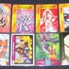 Storm Cards- Masterpieces X-Men Chromium Lot of 8 NM-M