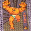 Marvel Universe 1994 (Fleer) Suspended Animation Card #7- Thing NM-M
