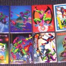 Green Goblin Cards- Marvel Flair Universe Spider-Man- Lot of 8 NM-M