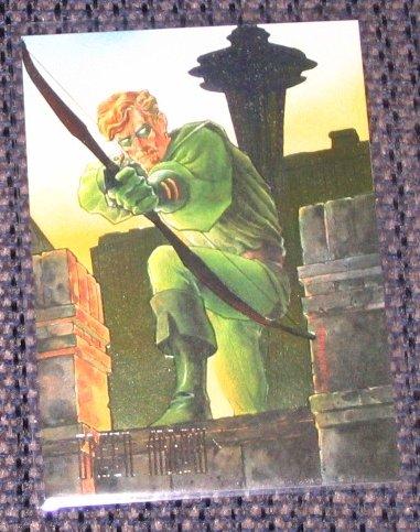 DC Master Series (SkyBox 1994) Foil Card F3 - Green Arrow EX