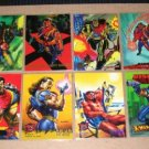 Bishop Cards- Marvel Flair X-Men- Lot of 8 NM-M