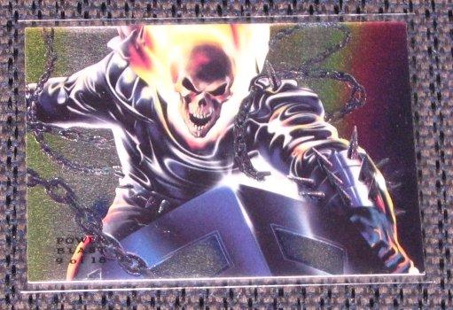 1994 Flair Marvel Universe (Fleer) Power Blast Card #9- Ghost Rider NM