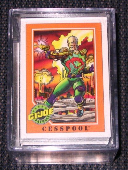 G.I.Joe Trading Cards (Impel 1991) - Lot of 146 Cards NM-M
