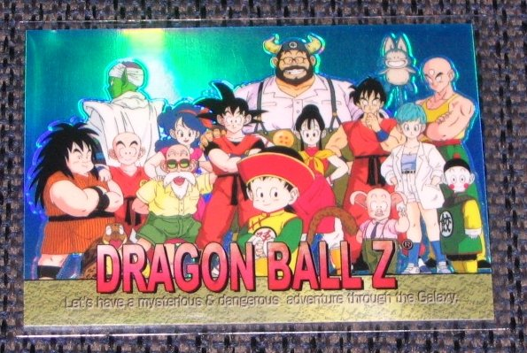 Dragon Ball Z Chromium Archive Edition (Artbox 2000) Holochrome Skill Chase Card S-09 VG