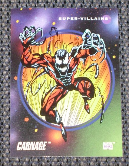 Marvel Universe Series 3 (Impel 1992) Card #120- Carnage NM