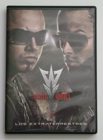 Wisin & Yandel Live- Los Extraterrestres (DVD) USED