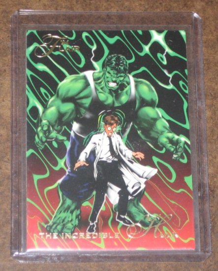 1994 Flair Marvel Universe (Fleer) Card #2- The Incredible Hulk NM