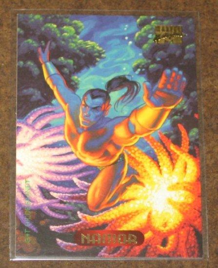 Marvel Masterpieces 1994 (Fleer) Card #81- Namor NM
