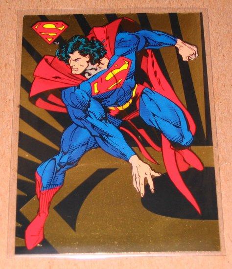 The Return of Superman (SkyBox 1993) - Foil Card SP1 EX