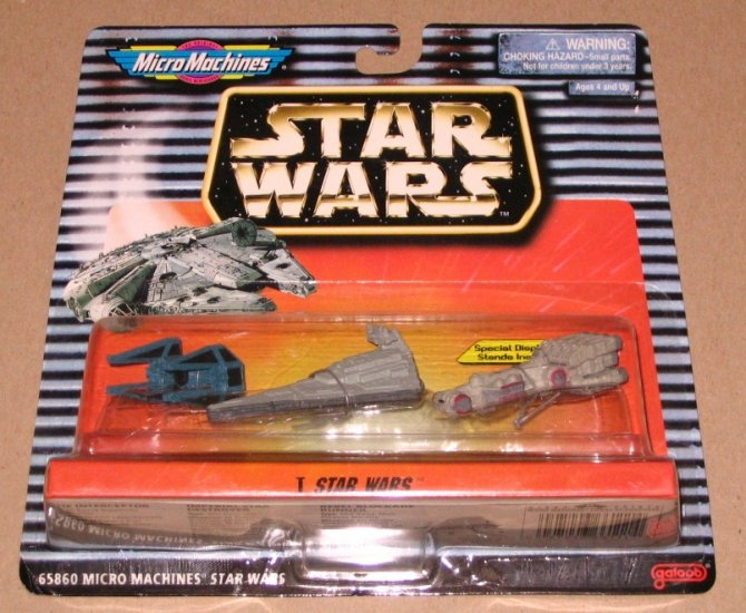 1997 Micro Machines Star Wars Collection I NIB