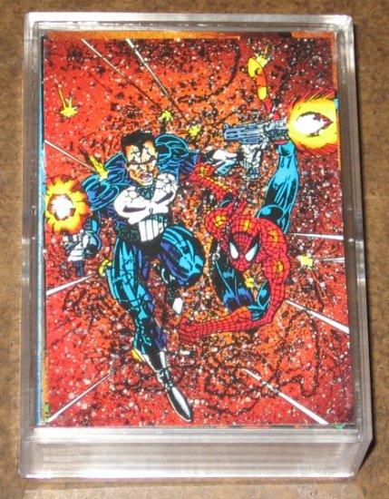 Punisher Guts & Gunpowder (Comic Images 1992) - Lot of 63 Cards NM-M