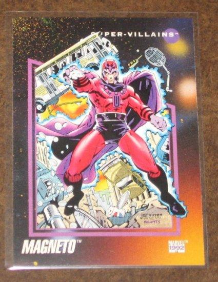 Marvel Universe Series 3 (Impel 1992) Card #112- Magneto NM