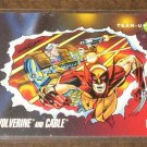 Marvel Universe Series 3 (Impel 1992) Card #77- Wolverine and Cable NM
